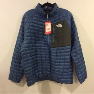Mens The North Face Thermoball Pullover 1/2 Zip
